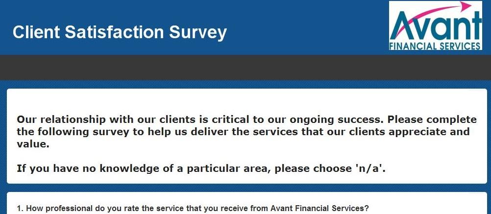client survey pic