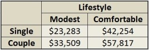 lifestyle amounts