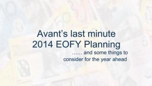 2014 EOFY Strategies